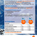 Migros Cumulus Promotion